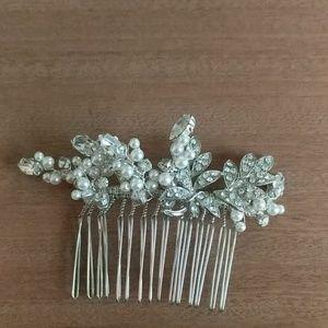 Bridal Hair Comb Bridal Comb Pearl dimond